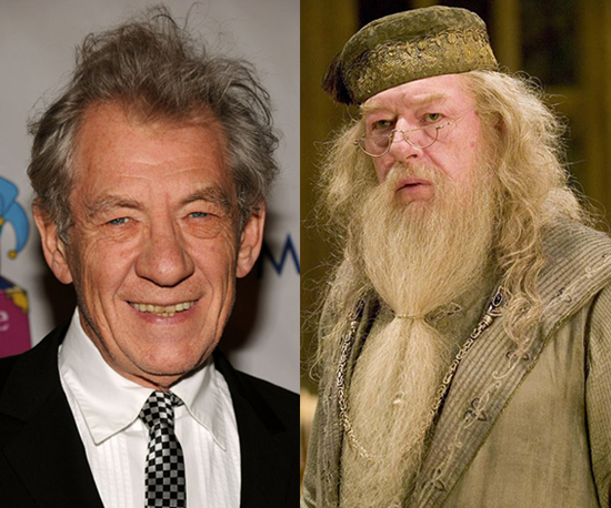 Ian McKellen as Dumbledore