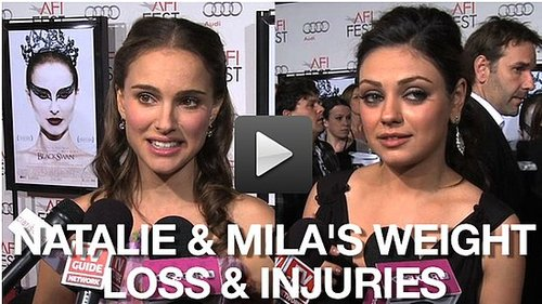 Video of Natalie Portman and Mila Kunis at LA Premiere of Black Swan 2010-11-12 10:16:36