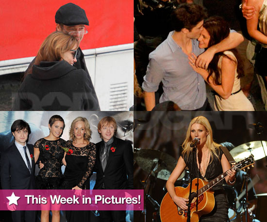 Angelina Jolie, Robert Pattinson, Gwyneth Paltrow, and the Harry Potter Gang in This Week in Photos!