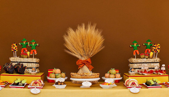 Amy Atlas's Tips For a Turkeyrific Dessert Table