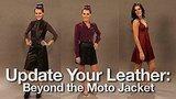 How to Wear Leather Dresses, Skirts, and Dresses