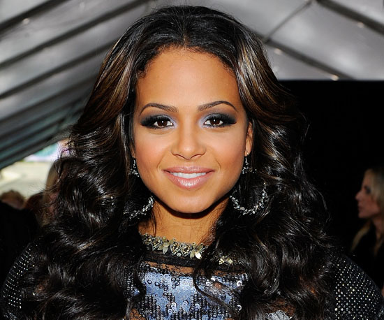 Christina Milian at the 2010 AMAs