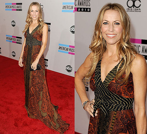 Sheryl Crow aux American Music Awards 2010
