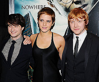 Slide Picture of Emma Watson, Rupert Grint, and Daniel Radcliffe at Harry Potter NYC Premiere