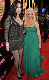 Christina Aguilera, Cher, Eric Dane, AnnaLynne McCord at Burlesque Premiere in LA