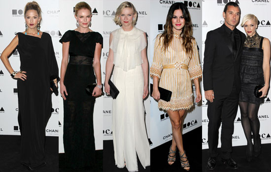 Pictures of Rachel Zoe Pregnant, Rachel Bilson, Kate Bosworth, Gwen Stefani and More at MOCA Gala 2010-11-15 00:00:00