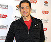 Slide Picture of Zachary Levi at an Event in LA