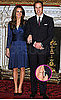 Pictures of Engaged Prince William and Kate Middleton Pose For Official Photos