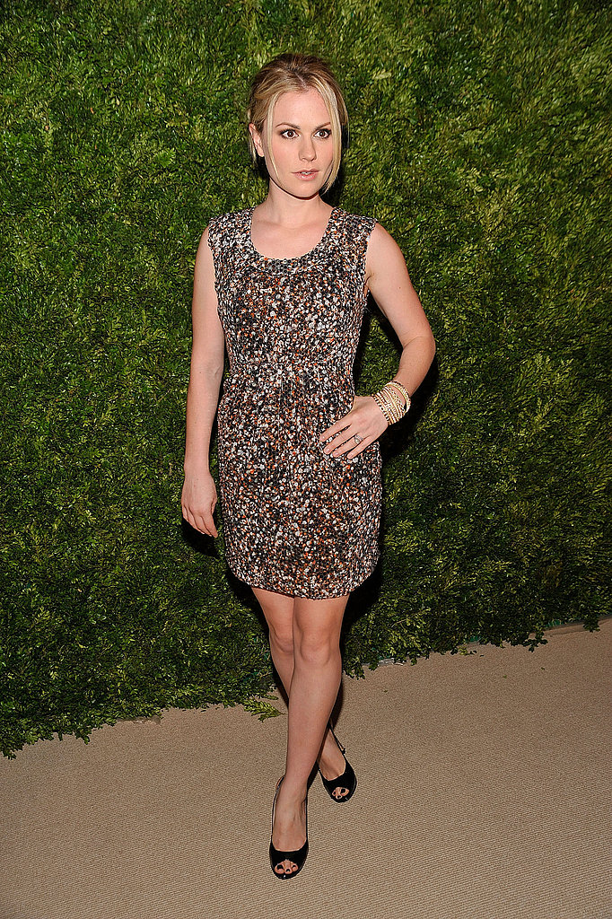 Anna Paquin showed off her stems in a sequined minidress.