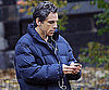 Slide Picture of Ben Stiller on the Set of Tower Heist in NYC