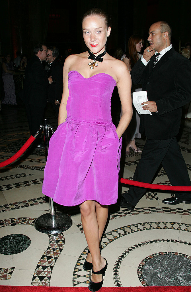 Purple-y perfection at an event in '04.