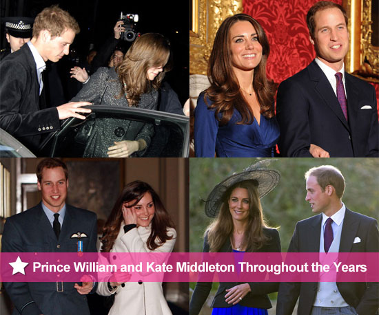 The Road to the Royal Marriage: Prince William and Kate Middleton Throughout the Years!