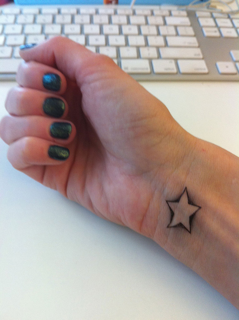 The Requisite Star-on-the-Wrist Tat