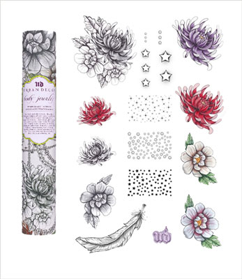 Pictures of Urban Decay's Temporary Tattoos