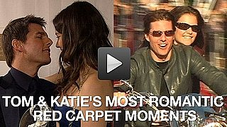 Video of Tom Cruise and Katie Holmes Being Romantic