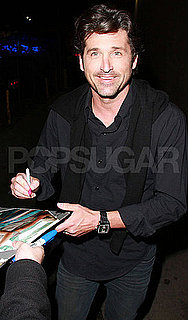 Pictures of Patrick Dempsey Leaving Jimmy Kimmel Live Studios