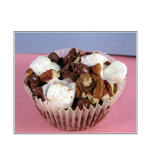 Rocky Road Fudge Brownie Muffins
