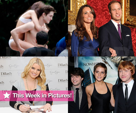 Rob and Kristen's Bikini and Shirtless Romp, Plus Prince William and Jessica's Engagement Announcements in This Week in Photos!