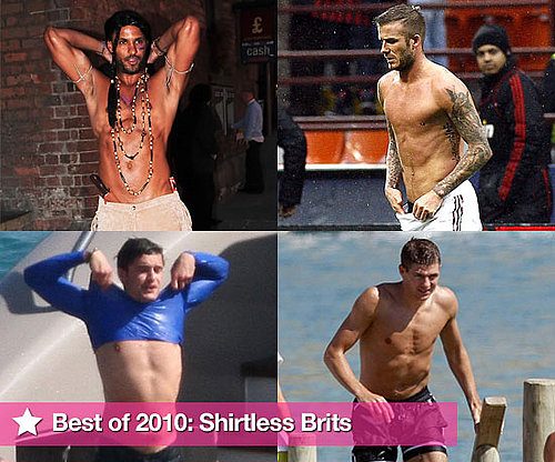 Best of 2010 Pictures of Shirtless Brits