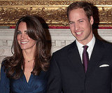 Pictures of Prince William and Kate Middleton at Engagement Announcement