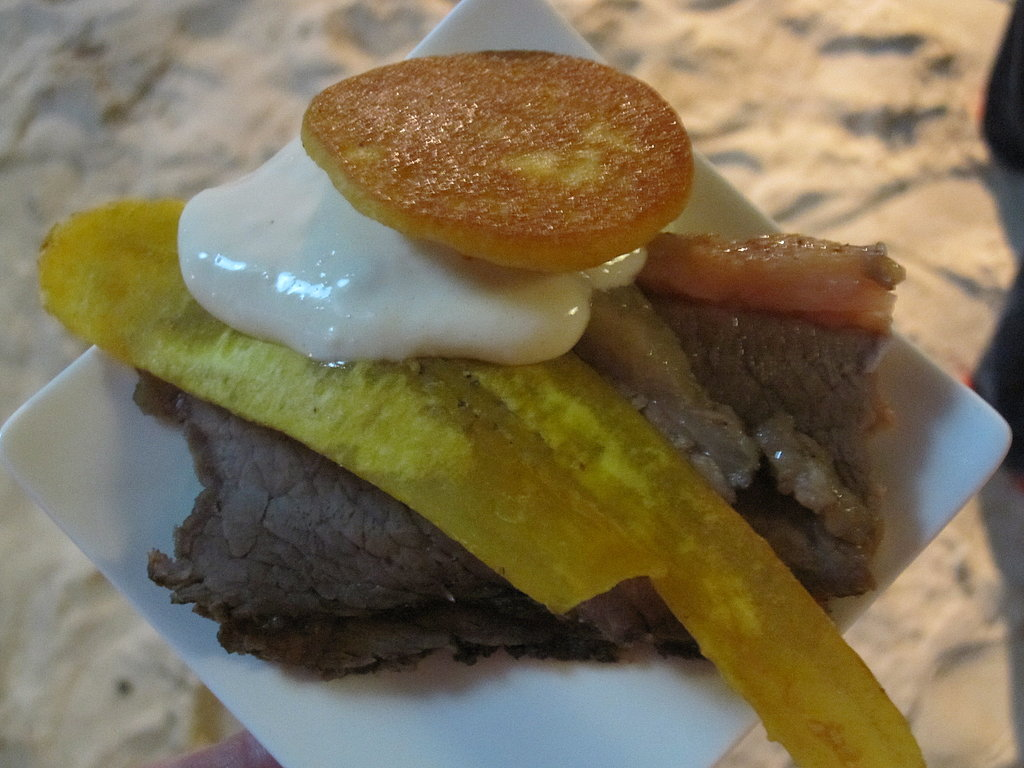 Bajans, the local name for Barbadians, love sauces; everything I ate came with a special sauce! For example, thick slices of succulent brisket was topped with a heaping dollop of horseradish cream.