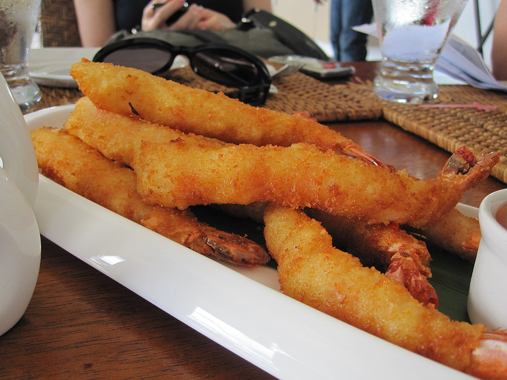 Deep-fried shrimp: what's not to love?