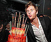 Slide Picture of Ryan Kwanten Celebrating Birthday