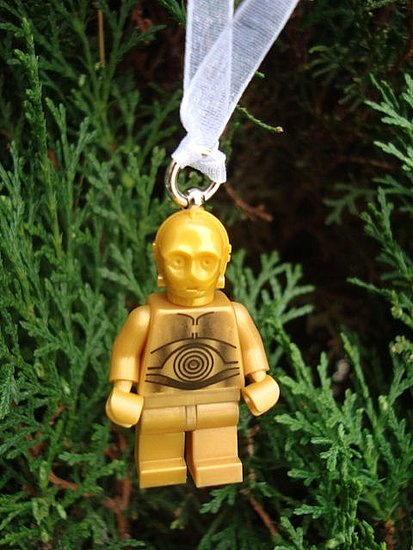 Photos of the Lego Ornaments