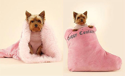 Juicy Couture Stocking Sleeping Bag Is One of the Juicy Couture Pet Products