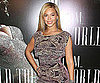 Slide Picture of Beyonce Knowles at the Screening of I Am. . .World Tour in NYC