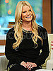Pictures of Jessica Simpson in New York on Early Show