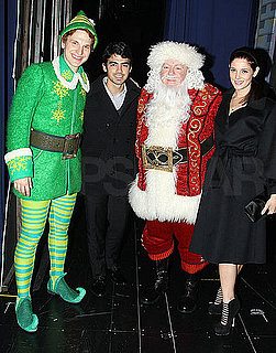 Pictures of Joe Jonas and Ashley Greene Taking Their Holiday Spirit From NYC to LA