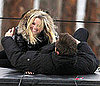 Pictures of Reese Witherspoon Filming This Means War With Chris Pine