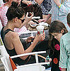 Pictures of Katie Holmes, Suri Cruise in Ft Lauderdale Together