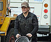 Slide Picture of Matt Damon Strolling Through NYC