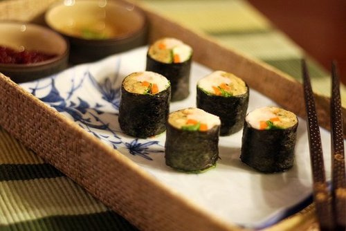 Thanksgiving Sushi Rolls