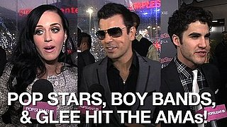 Video of Stars on the American Music Awards Red Carpet 2010-11-22 10:52:52