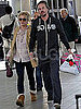 Pictures of Britney Spears and Jason Trawick at Airport Before Thanksgiving