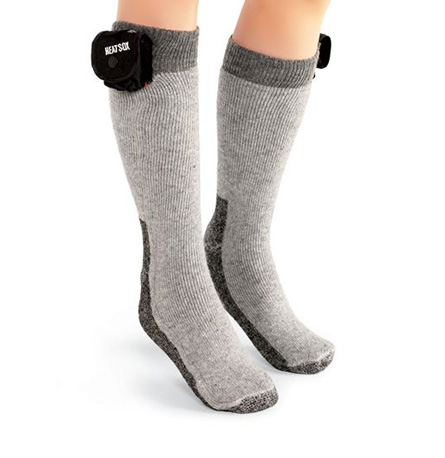 Battery-Powered Heating Socks ($25)