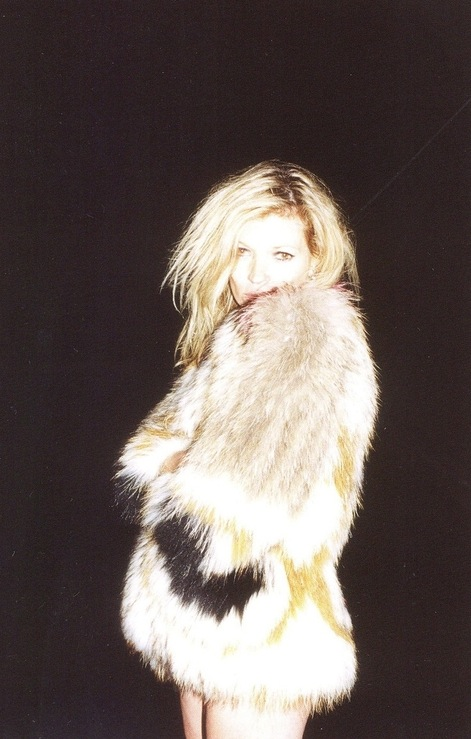 Isabel Marant fur coat.