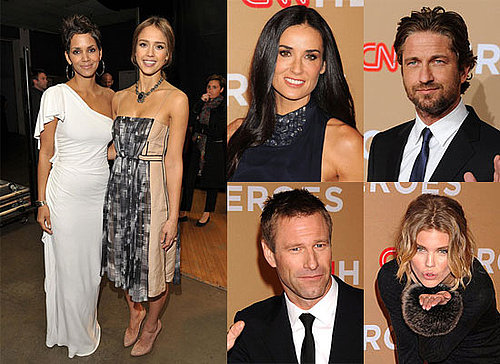 Halle Berry, Jessica Alba, Gerard Butler, Demi Moore and More at CNN Heroes Event