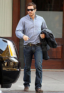 Pictures of Jake Gyllenhaal Buttoning Up For His Big Weekend