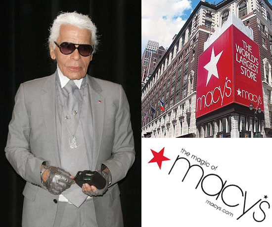 Did you hear? Karl Lagerfeld has partnered with Macy's!