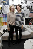 January Jones and Rose Byrne aren't all done up here, but I love the simplicity of their black jeans and cozy-cute sweaters.
