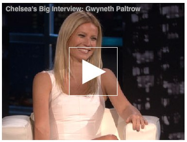 Gwyneth Paltrow talks about daugther Apple's British accent with Chelsea Handler