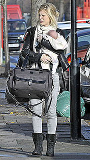 First Pictures of Emilia Fox With Her Baby Daughter