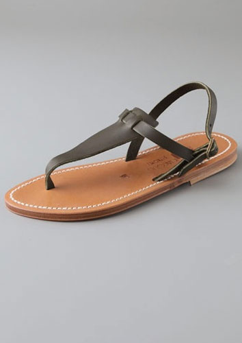 The Quintessential French Sandal