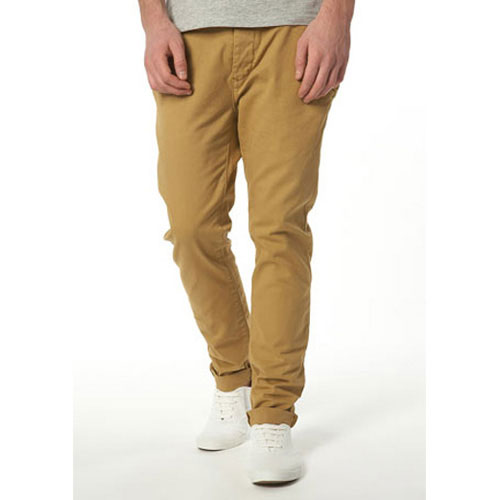 Mustard Cotton Skinny Chino, Approx $45 from Topman