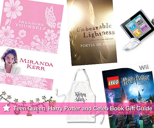 Christmas Gift Ideas for Teen Queens, Harry Potter Fans and Celebrity-Obsessed Bookworms