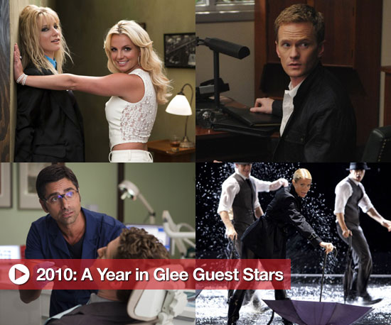 2010: A Year in Glee Guest Stars